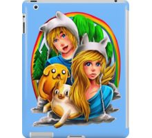 Finn and Fiona  iPad Case/Skin