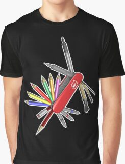 Pocket Art Graphic T-Shirt