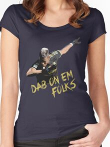 Pogba - Dab On Em Folks Women's Fitted Scoop T-Shirt