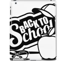 Back to school design iPad Case/Skin
