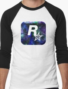 °GEEK° Rockstar Space Logo Men's Baseball ¾ T-Shirt