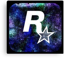 °GEEK° Rockstar Space Logo Canvas Print