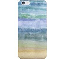Sandy ocean iPhone Case/Skin
