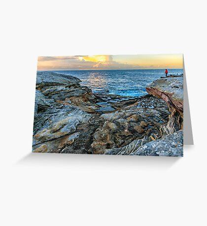 Botany Bay wake up Greeting Card