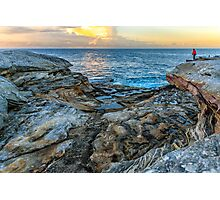 Botany Bay wake up Photographic Print