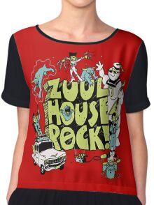 zuul house rock Chiffon Top