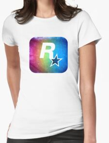 °GEEK° Rockstar Rainbow Womens Fitted T-Shirt