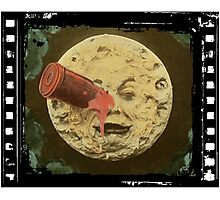 Vintage Trip to the Moon colour Photographic Print