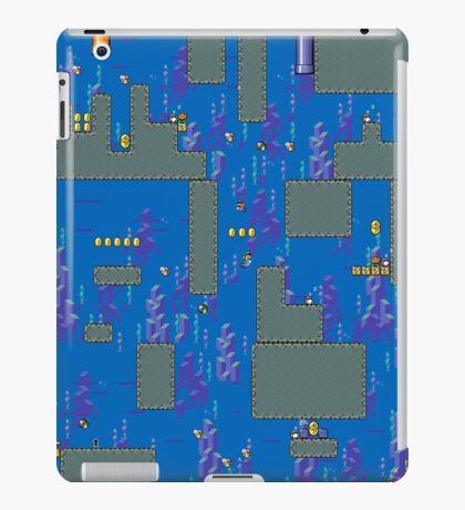 Super Mario World water stage iPad Case/Skin