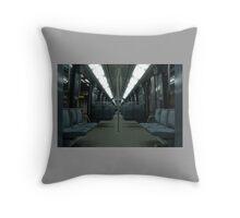 Subway LA Metrolink. Throw Pillow