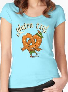 Gluten Tag! Women's Fitted Scoop T-Shirt