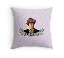 For Science, Jawn Throw Pillow