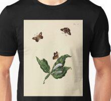 Surinaamsche vlinders  naar het leven geteekend Papillons de Surinam dessinés d'après nature Jan Sepp 1852 043 Moths Butterflies Unisex T-Shirt
