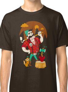 Green Thumberjack Classic T-Shirt