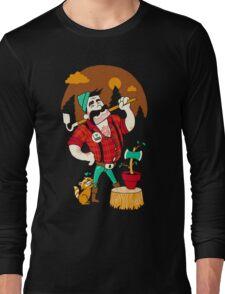 Green Thumberjack Long Sleeve T-Shirt