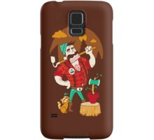 Green Thumberjack Samsung Galaxy Case/Skin