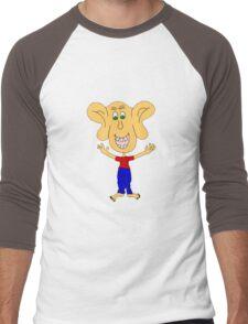 ears Men's Baseball ¾ T-Shirt