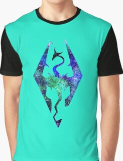 °GEEK° Skyrim Space Logo Graphic T-Shirt