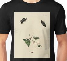 Surinaamsche vlinders  naar het leven geteekend Papillons de Surinam dessinés d'après nature Jan Sepp 1852 045 Moths Butterflies Unisex T-Shirt