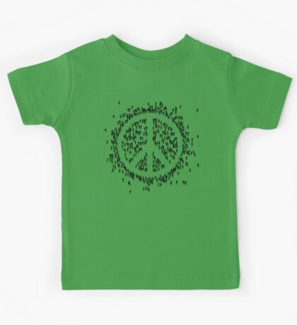 all we are saying.... is give peace a chance.... Kids Tee