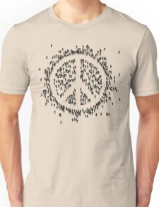 all we are saying.... is give peace a chance.... Unisex T-Shirt