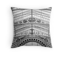 Layers of glass Throw Pillow