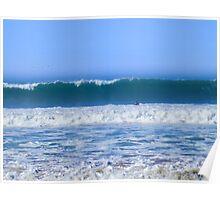 Ocean Beach Perfect Wave Poster