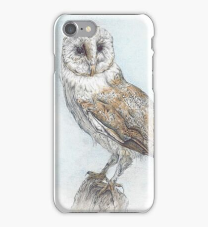 Tea Stained Owl iPhone Case/Skin