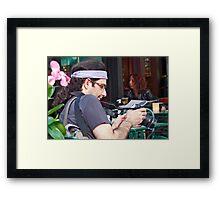 Canon Man Framed Print
