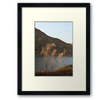 El Capitan Reservoir, San Diego County, California, 11 Framed Print
