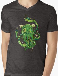 Sir Charles Cthulhu Mens V-Neck T-Shirt