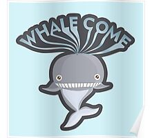 WHALECOME Poster