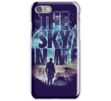 the sky in me iPhone Case/Skin