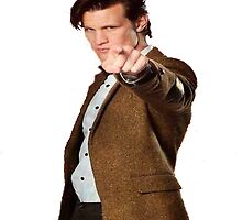 Eleventh Doctor-Studying by Senpai