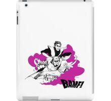 Hellboy And Nightcrawler  iPad Case/Skin