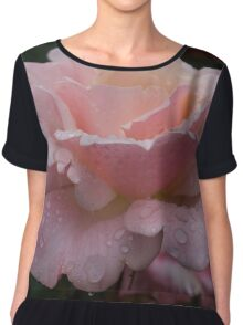 Rose and Rain in Pink Chiffon Top