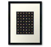 SWELL ITALIAN MAN'S WORLD Framed Print