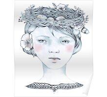 Spring Crown Poster