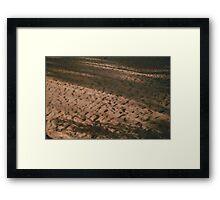 The Dunes. Framed Print