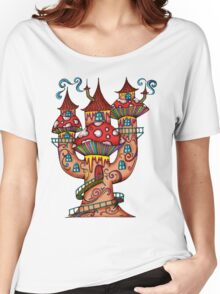 Mushroom House IIII Women's Relaxed Fit T-Shirt