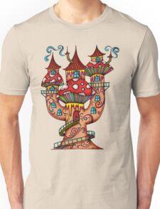 Mushroom House IIII Unisex T-Shirt