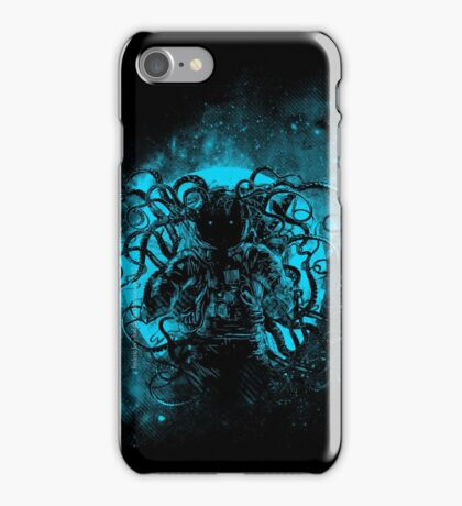 terror from deep space iPhone Case/Skin