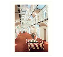 Malmaison Oxford Hotel Art Print