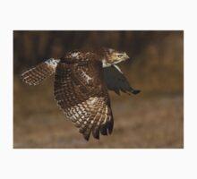 Red-tailed Hawk in Flight Kids Tee