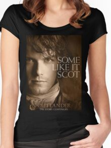 JAMIE FRASER OUTLANDER Women's Fitted Scoop T-Shirt