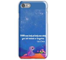 Stitch - Ohana iPhone Case/Skin