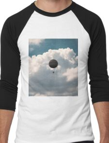 Clouds Men's Baseball ¾ T-Shirt