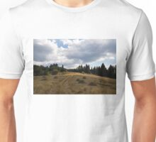Late Summer Meadows and Haystacks Unisex T-Shirt