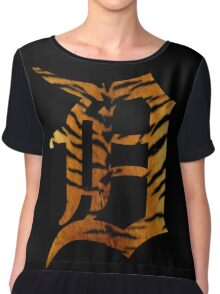 Tiger Detroit Chiffon Top