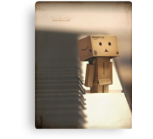 The key of Danbo Canvas Print